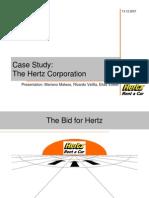 Case Study Hertz Corporation