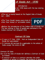 Sale of Goods Act -1930