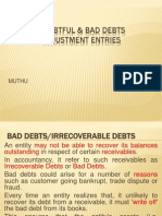 Doubtful & Bad Debts