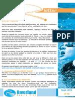 Newsletter Riverland - Sept 2014 - N'10 - FR