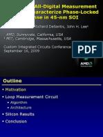 CICC09 Slides19.3 PLL Loop Measurement