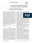 A Survey on Face Detection and Recognition Techniques in Different Application Domain