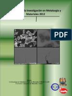 avances en la inv. en met y mat. 2012.pdf