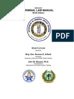 Criminal Law Manual