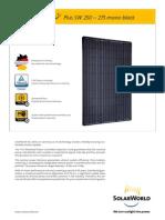 250 Watt Solar Cells