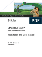 Siklu EH-1200 Install & User Manual - EH-InSTL-02_Issue1