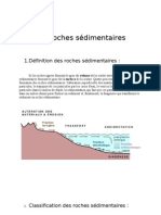 classification des roches sédimentaires