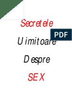 secretele uimitoare despre sex