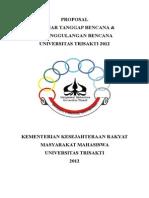 Proposal - Seminar Tanggap Dan Penanggulangan Bencana (Fix)