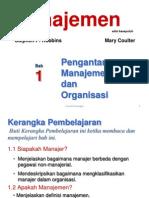 Bab 1 - Pengantar Manajemen Dan Organisasi