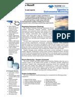 Active Stormwater Runoff Monitoring