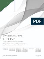 LG LED LCD 5400.