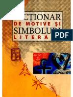 Dictionar de Motive Si Simboluri Literare Libre