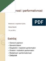 Modalnost i performativnost