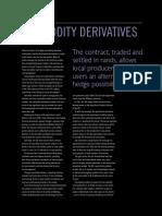 JSE - Commodity Derivatives