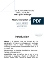 CROSS BORDER MERGERS & ACQUISITIONSCross Border Mergers & Acquisitions