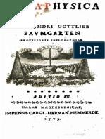 Baumgarten, Alexander Gottlieb –Metaphysica (7. Auflage, 1779).pdf