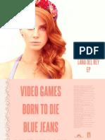 Digital Booklet - Lana Del Rey - EP