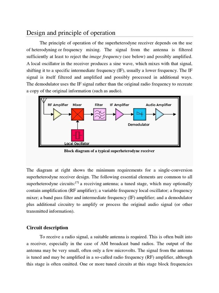 block diagram docx | Electronics | Telecommunications