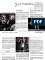 RPE and Weightlifting