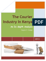 The Courier Industry in Kenya an in Depth Analysis