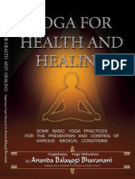 Yoga For Health And Healing by Yogacharya Dr Ananda Balayogi Bhavanani