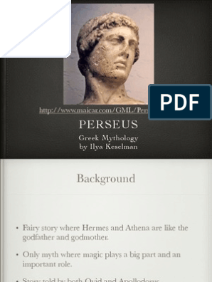 Perseus Presentation Medusa Mythological Characters