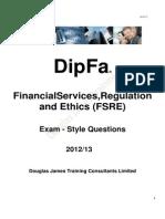 DipFA - Sample Papers