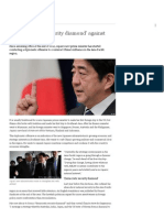 Abe Advocates ′Security Diamond′ Against China _ Asia _ DW.de _ 21.01