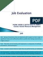 2. HRM Job Evaluation.ppt