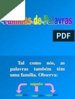 FAMILIA DE PALAVRAS.ppt