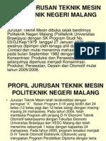 Profil Jurusan Teknik Mesin-Ordik 09