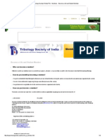 Tribology Society of India(TSI) - Members - Become a Life and Student Member