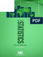 World Statistics Pocketbook