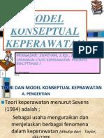 MODEL KONSEPTUAL KEPERAWATAN.ppt