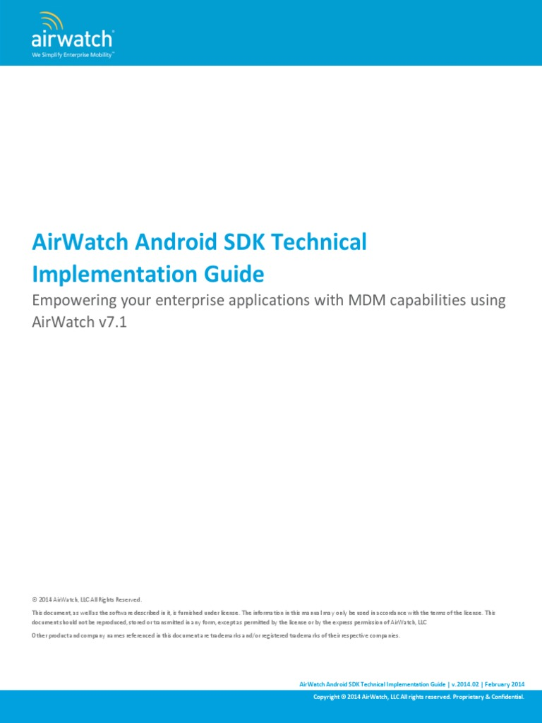 Airwatch mdm guide v7 email command line interface airwatch android sdk guide yelopaper Gallery