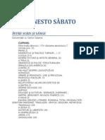 Ernesto Sabato - Intre Scris Si Sange