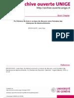 BRONCKART, Jean-Paul - Os Géneros de texto e os tipos de discurso como formatos das interações de desenvolvimento.pdf