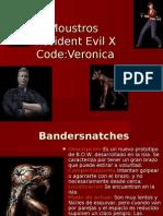 Moustros Resident Evil x Code Veronica