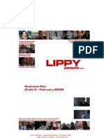 LIPPY PEOPLE – Business Plan D3 – February 2009 Author: