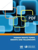 HUMAN RIGHTS FUNDS,GRANTS AND FELLOWSHIPS