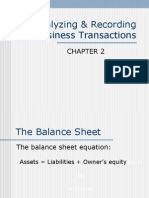 Transactions Recording Chapter2 B