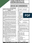 Ssc Mains (English) Mock Test-18