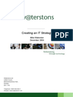 Creating an It Strategy