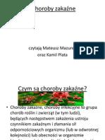 Prezentacja Biologia - Choroby zakaźn.pptx.pptx