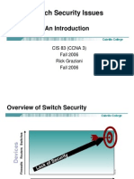 Cis83!3!10 SwitchSecurityIssues
