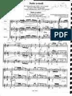 Bach - Prelude BWV 995 - Fingerings