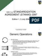 STANAG 2287-Generic Operations