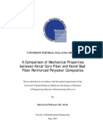 A Comparison of Mechanical Properties Between Kenaf Core Fiber and Kenaf Bast Fiber Reinforced Polyester Composite
