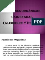 FUNCIONES ORGÁNICAS OXIGENADAS